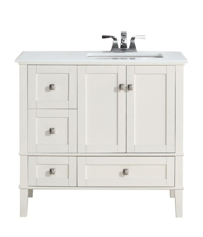 adds a luxurious feeling to your new contemporary bathroom with 36