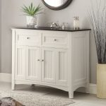 adelina 4875 inch antique white sink bathroom vanity black