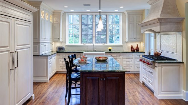 adorable tailored and timeless traditional kitchen design