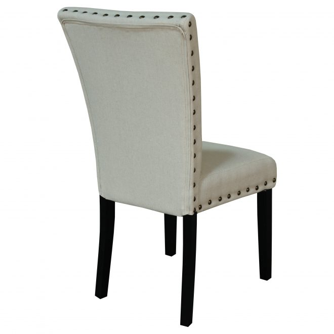 adorno upholstered linen dining chairs set of 2