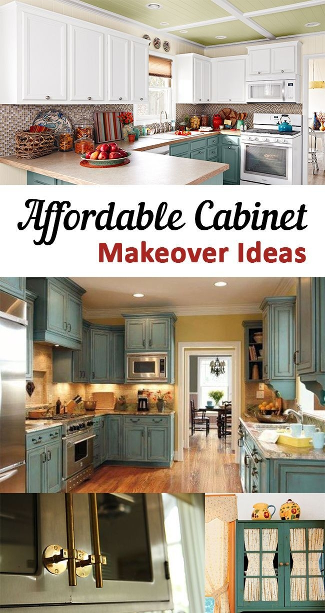 affordable cabinet makeover ideas do it yourself today