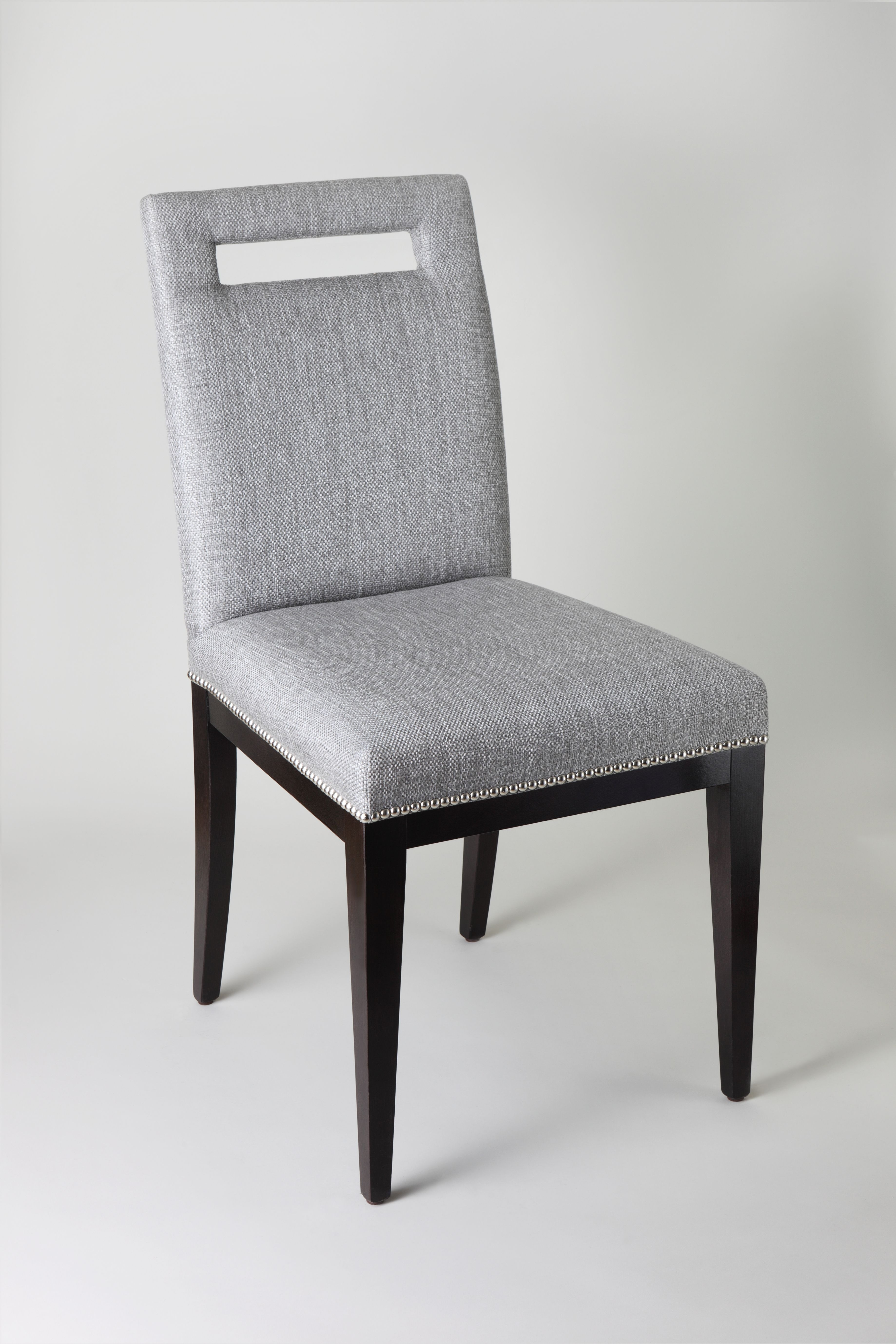 alexa grey upholstered dining chairs furniture gray