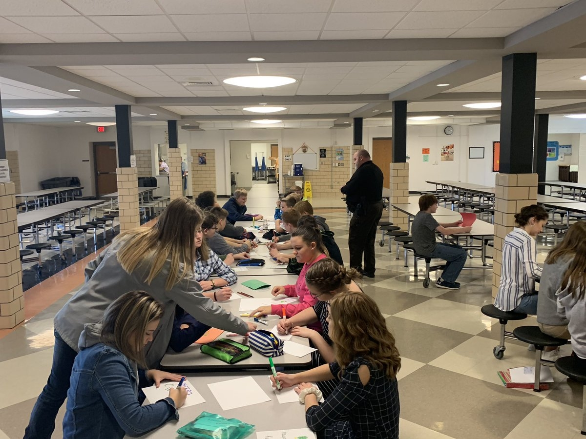 allison dunkley on twitter rrms honor society making christmas