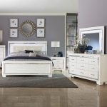 allura white 5 pc queen bedroom badcock more