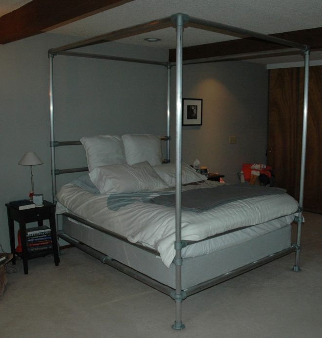 aluminum pipe bed 10 steps with pictures