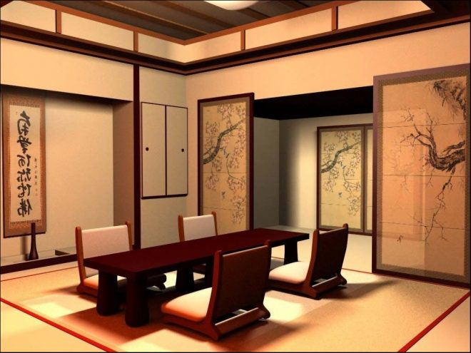 amazing japan living room asian style with japanese traditional wall