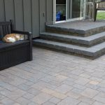 an outdoor living space with tuscanstone fireplace mutual