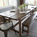 ana white beginner farm table 2 tools 50 lumber diy projects