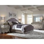anastasia king size bed frame king bed grey products