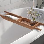 andover mills raritan wood bath caddy reviews wayfair