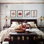 anthropologie bedroom the birds painted on the wall and