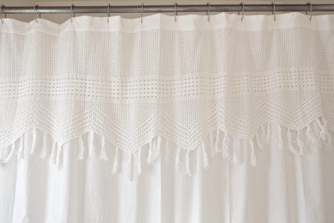 anthropologie shower curtain red house west