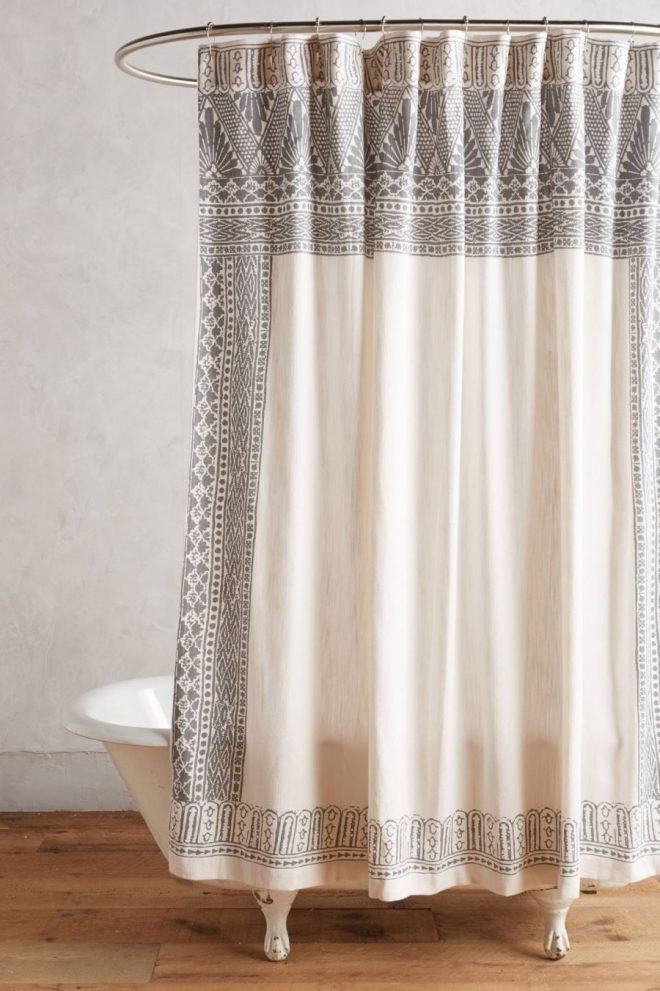 anthropologie shower curtain with art noveau flair fancy