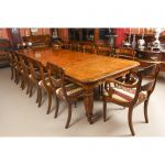 antique oak victorian dining table 19th c 12 chairs