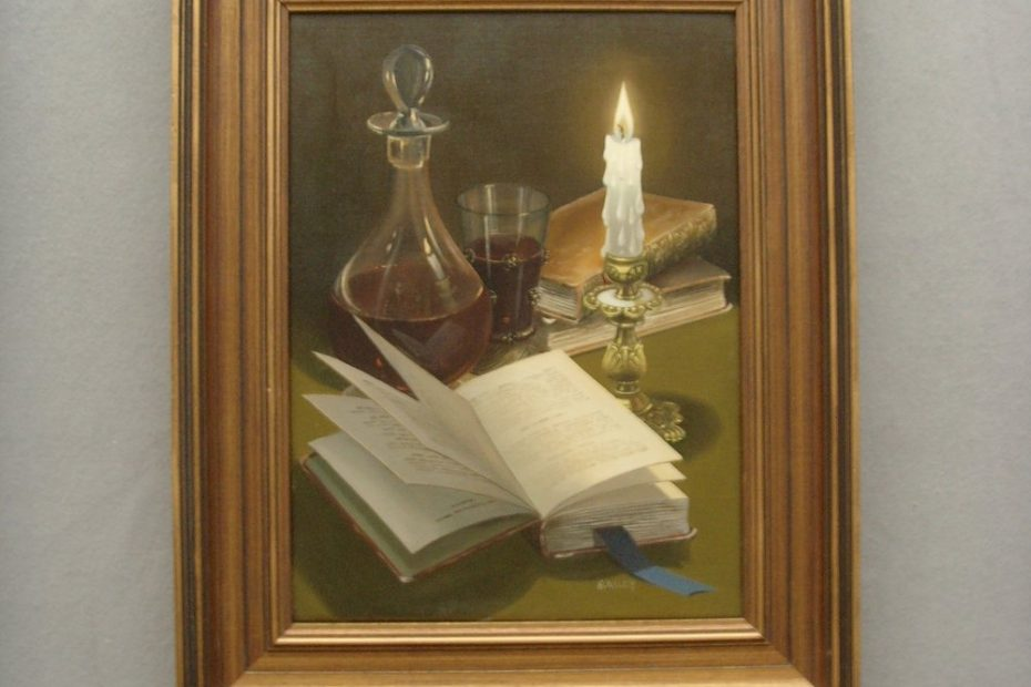antiques atlas george j bailey superb still life oil painting