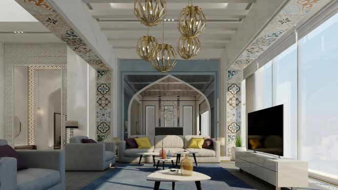 arabic inspired interiors with majestic look and feel nonagonstyle