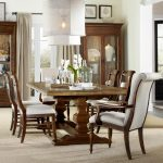 archivist 7 piece dining set with trestle table hooker furniture at dunk bright furniture