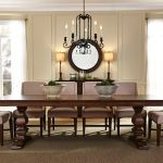 armand trestle table dining room set liberty furniture home gallery stores