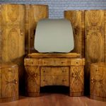 art deco walnut bedroom suite c1935 antiques atlas