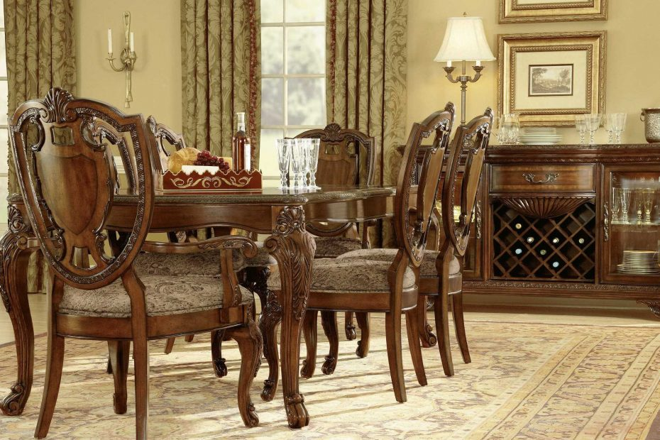 art furniture old world dining set