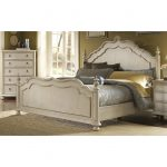 art furniture provenance panel 5 piece king size bedroom set
