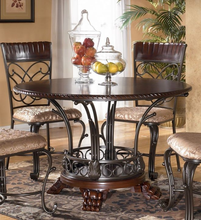 ashley furniture dining room table previous in dining tables next