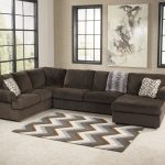 ashley furniture jessa place chocolate right side chaise sectional