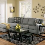ashley furniture zella charcoal left side chaise sectional