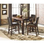ashley larchmont barstool in burnish brown the sleepers shoppe