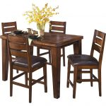 ashley larchmont counter height dining table dining tables home