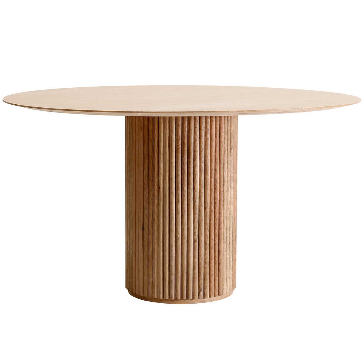 asplund palais royal dining table white stained oak