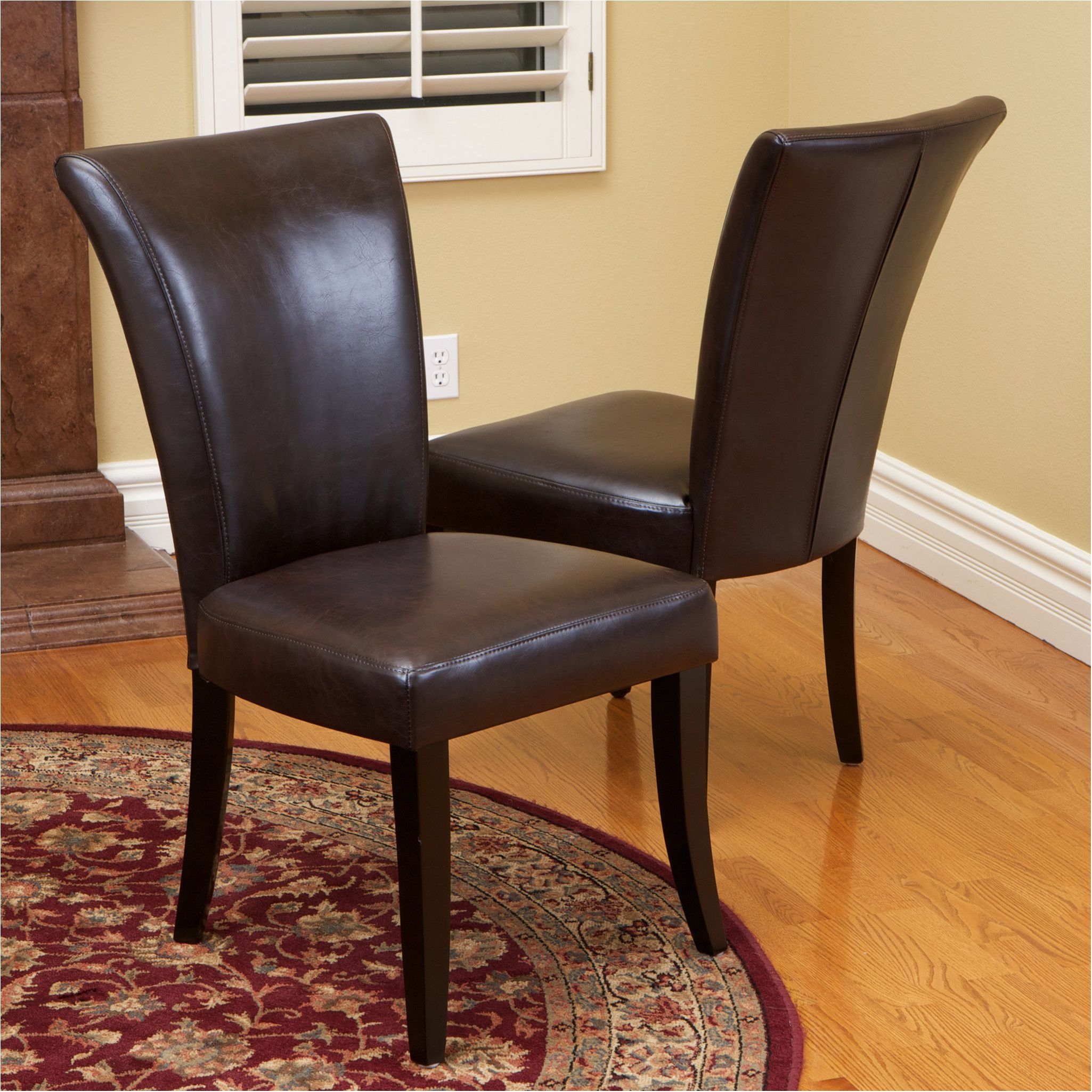 astonishing leather dining room chairs morrison6