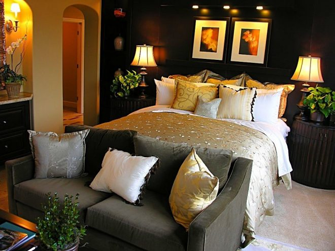 attractive romantic bedroom decorating ideas on a budget
