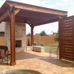 austin patio pergola outdoor fireplace proves outdoor living