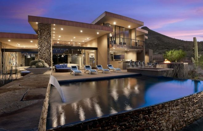 award winning modern luxury home in arizona the sefcovic residence
