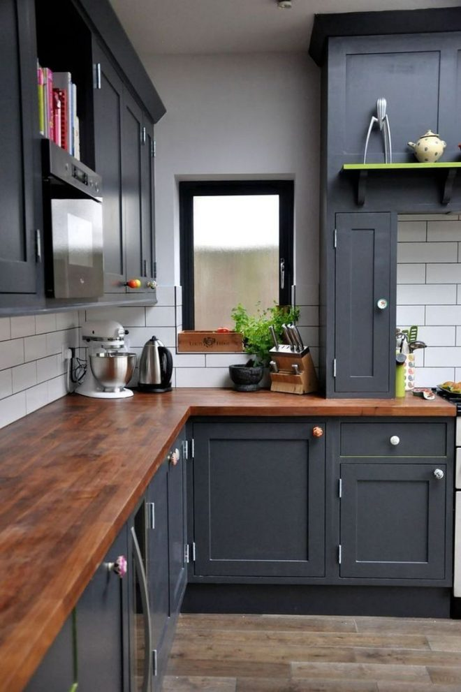 awesome colorful painted cabinet ideas 17 kitchen
