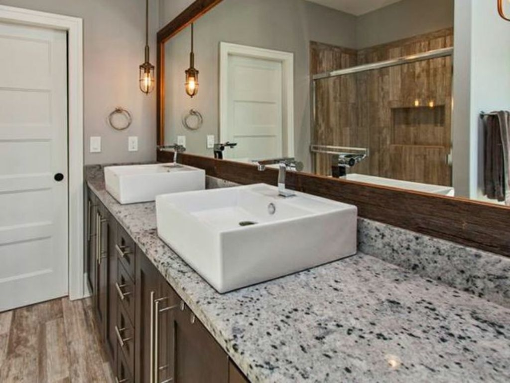 awesome ideas for granite vanity tops in modern bathrooms