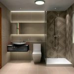 awesome modern small bathroom design pertaining to house decorating