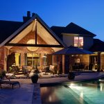 awesome outdoor living spaces christopher lee company fine homes
