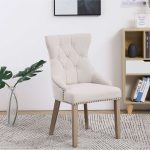 awesome tufted upholstered dining chair set furniture room