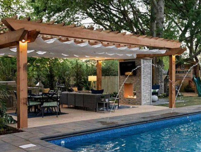 awnings ontario pergolas terrace top structures barrie
