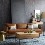 axel leather 3 seater sofa 226 cm living room designs