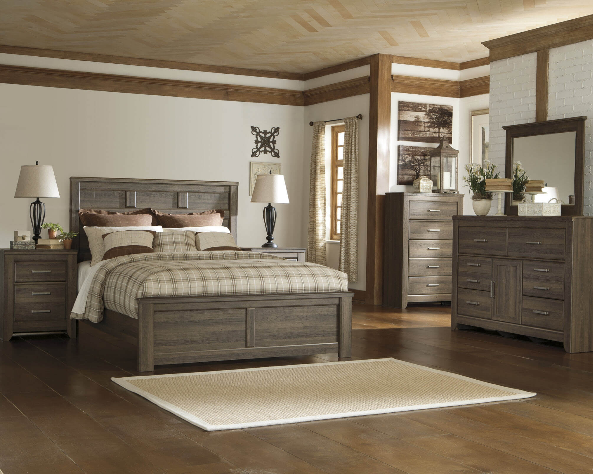 b251 juarano ashley bedroom set