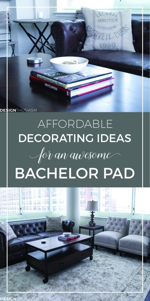 bachelor pad ideas decorating a young mans apartment