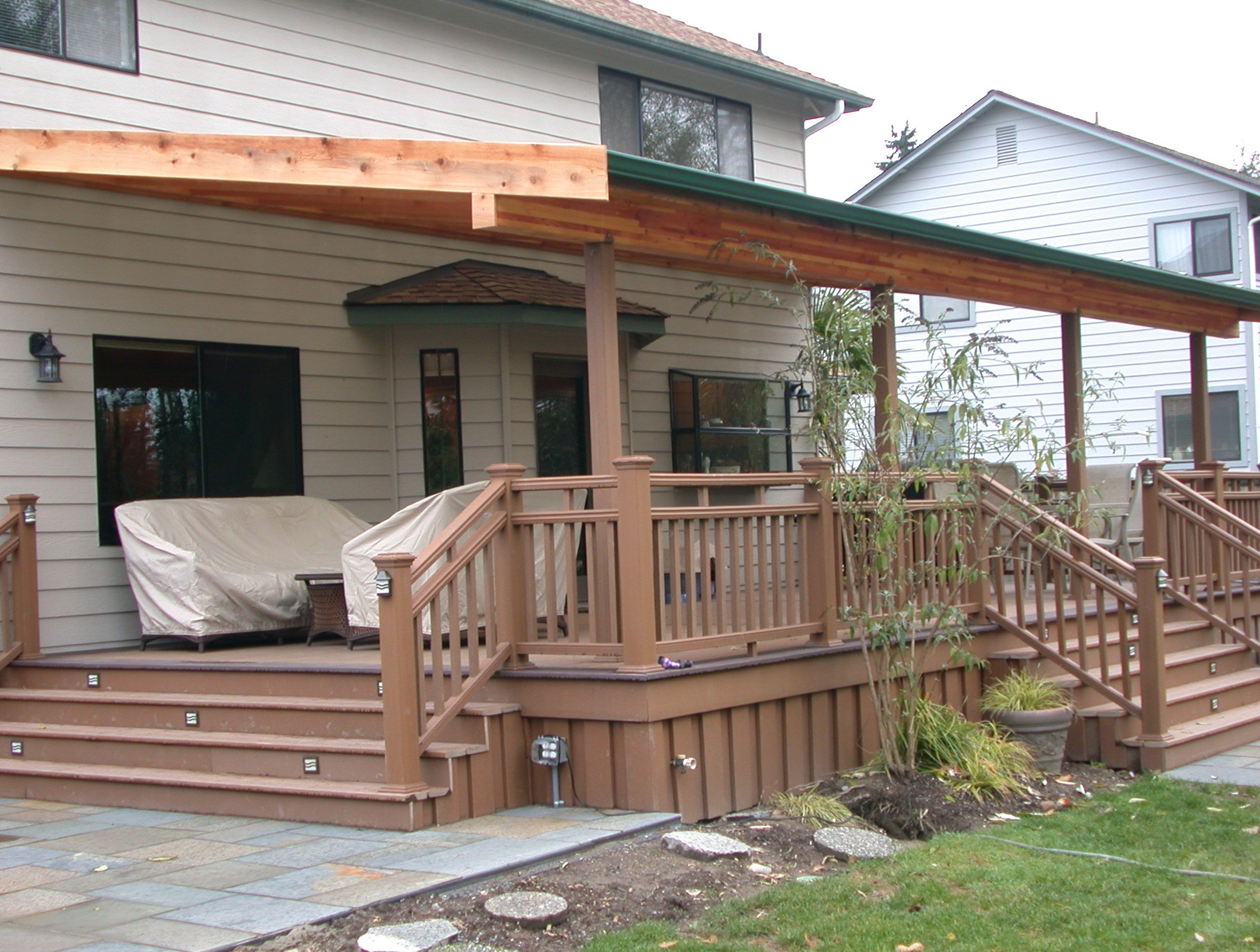 back porch deck ideas decks ideas