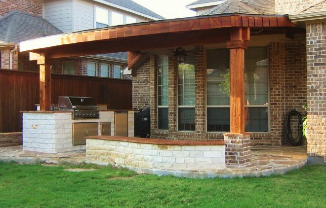 back porch fireplace ideas diy patio awning home elements