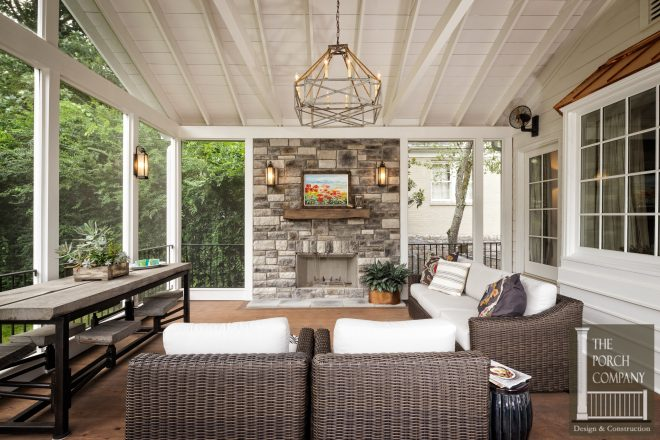 back porch with fireplace ideas images two sided outdoor