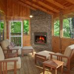 back porch with fireplace ideas screened plans in cost