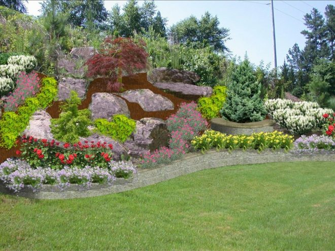 backyard hill landscaping ideas hill landscaping ideas for