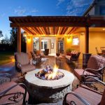 backyard living spaces outdoor living spaces with fire pit
